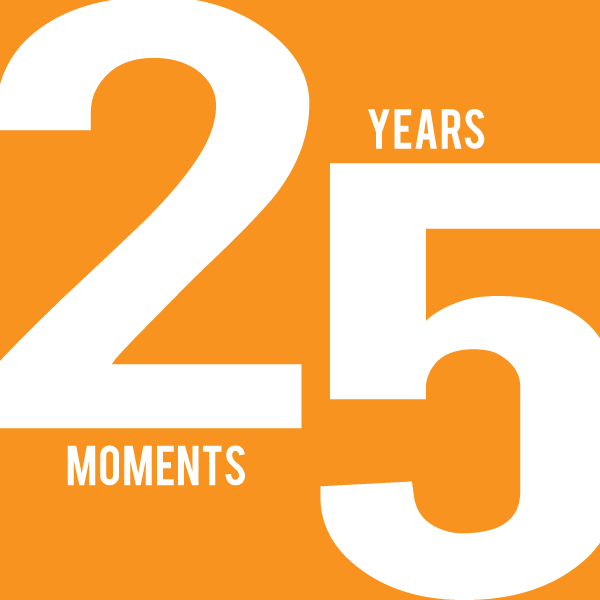 25 Years | 25 Moments: Double Duty Supporter