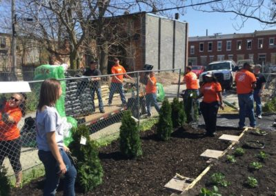 Day to Serve with Home Depot
