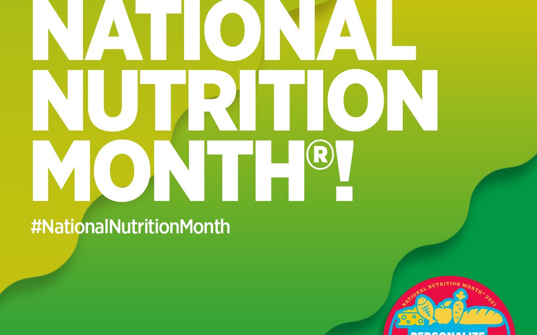 National Nutrition Month at Moveable Feast
